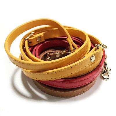 1.2cm*120cm Handbag Cross Body Shoulder Bags Strap PU Leather Handle Replacement 7