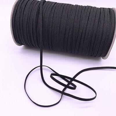 3-12mm Hight Elastic Bands Spool Sewing Band Flat Elastic Cord diy Sewmaterials 3