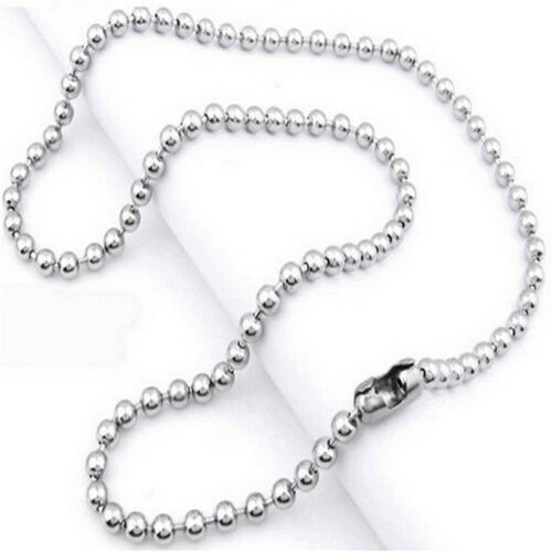 Unisex Men Stainless Steel Cross Blue Silver Pendant Necklace Chain Jewelry Gift 7