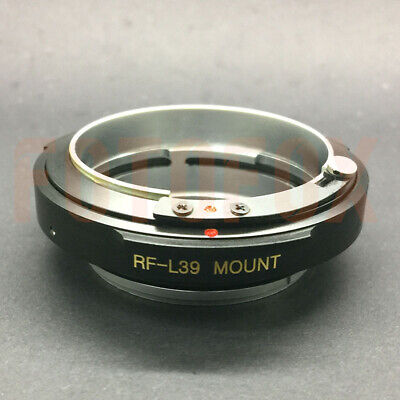 FOTOFOX RF-L39 Contax Rangefinder CRF RF Lens to Leica Mount SM M39 L39 Adapter 10