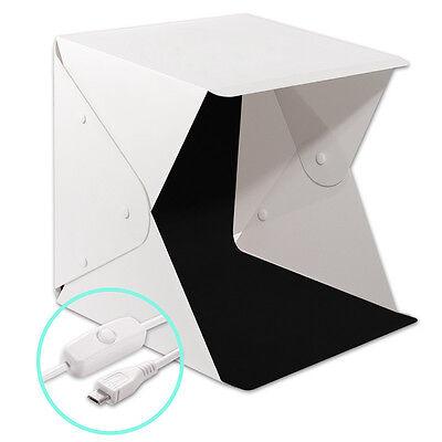 Light Room Photo Photography Lighting Tent Kit Cube Mini Box With 4Pcs Backdrops 3
