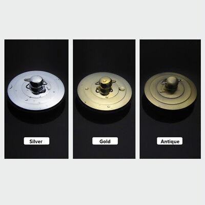 Silver/Gold/Antique Bath Plug with Chain 40-60mm Bathtub Basin Sink Drain Parts 3
