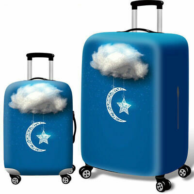 """Elastic Luggage Cover Dustproof 18""""-32"""" Thicker Suitcases Trolley Protector Case 12"""
