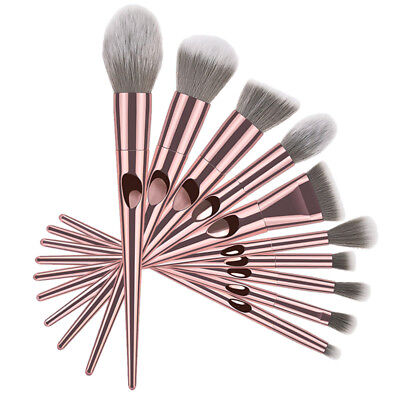 10pcs Pro Makeup Brushes Set Foundation Powder Blush Beauty Cosmetic Brush Tools 4