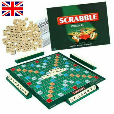 UK! Scrabble Board Game Family Kids Adults Educational Toys Puzzle Game 5