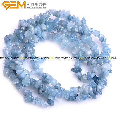 "Freeform Natural Stone Chips Beads For Jewelry Making 34""/15"" Bulk in Lots"