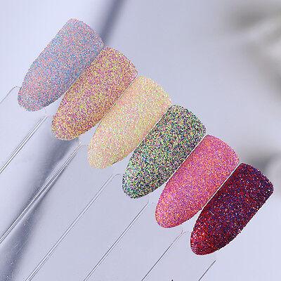 Nail Art Sugar Sandy Glitter Powder Dust Decoration Nail Tips DIY Born Pretty 8