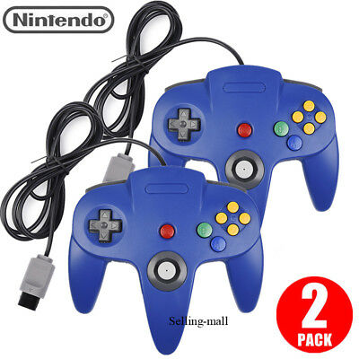 N64 Controller Joystick Gamepad Long Wired for classic Nintendo 64 Console Games 2