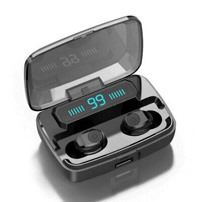 Bluetooth 5.0 Headset TWS Wireless Earphones Mini Stereo Headphones LED Earbuds 7