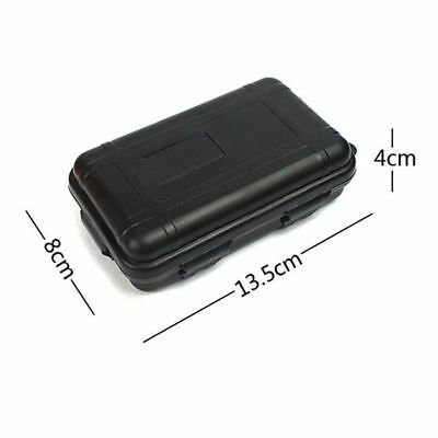 1PC Portable Shockproof Airtight Survival Plastic Case Storage Container Box 11