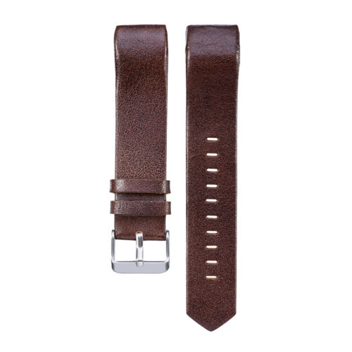 2017 Genuine Leather Wrist Band Watch Strap For Fitbit Charge 2 Large Small 6