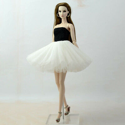 """Fashion Doll Clothes Short Ballet Dress For 11.5"""" Doll Outfits Evening Dress 1/6 7"""