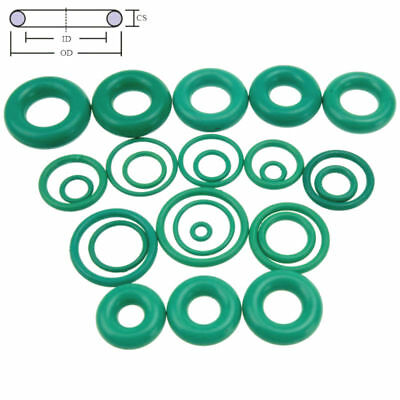 10pcs Oil Resistant FKM Viton Fluorine Rubber Sealing O-Ring OD 4-32mm CS 1mm 5