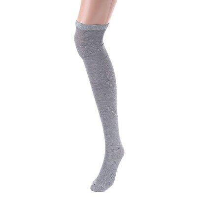 Ladies Over The Knee Cotton Socks Sizes Adult 4-7 UK Girls  Long School Socks 6
