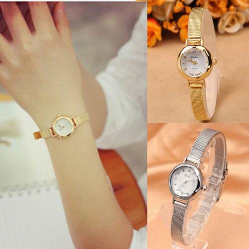 Women's Fashion Stainless Steel Wrist Watches Analog Quartz Watch Bracelet Gift 2