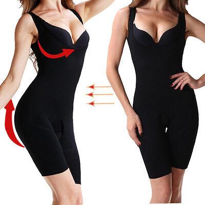 0cec8d219a ... Women Full Body Waist Trainer Shaper Waist Cincher Underbust Corset  Shapewear US 3