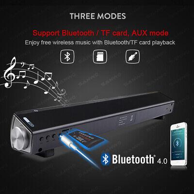 Wireless Bluetooth Sound Bar Speaker Super Bass Stereo Home TV Subwoofer System 4