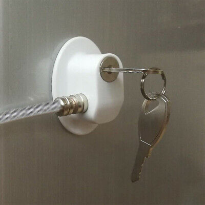 Anti-theft for Home Anti child lock Security Gift Lock and Key Bathroom Safety 2