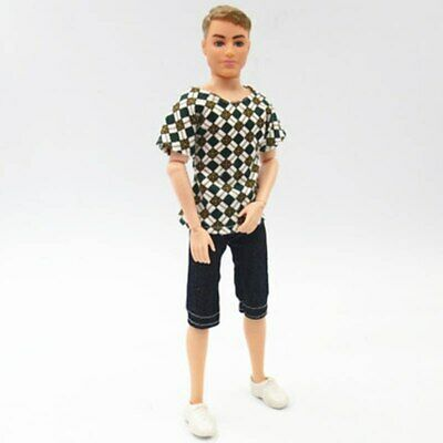 1SET 1/6 Casual WearShirt & Trousers Shorts For Ken Doll Outfits Pants Clothes 4
