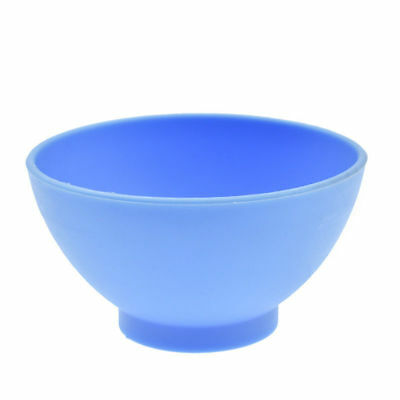 Dental Lab Mixing Bowl Blue Nonstick Flexible Silicone Rubber Impression Cup 12