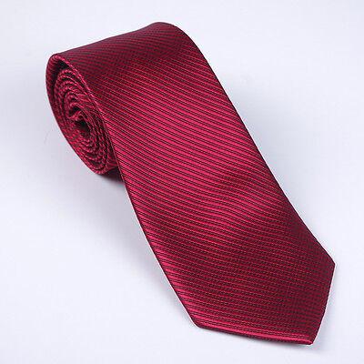 8CM  Men Jacquard Woven Tie Necktie Business Wedding Party Ties 17 style 6