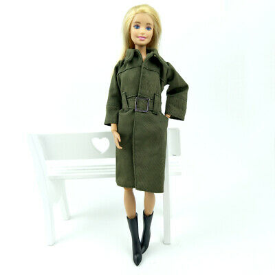 Office Lady Fashion Coat For 1/6 Doll Clothes & Shoes Outfits For 11.5in Doll 5