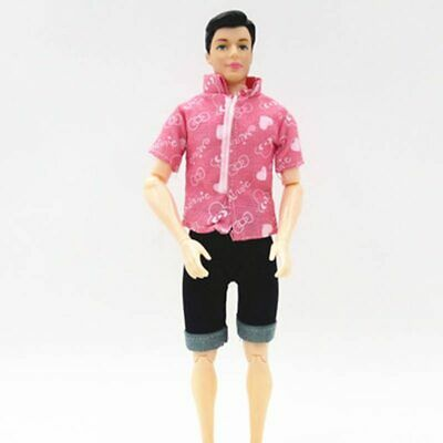 1SET 1/6 Casual WearShirt & Trousers Shorts For Ken Doll Outfits Pants Clothes 12