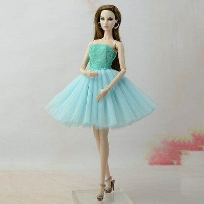 Fashion Summer Dress For 11.5in Doll Short Ballet Dresses For 1/6 Doll Clothes 3