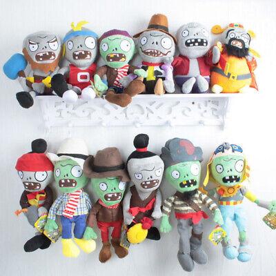 Plants vs Zombies PVZ Figures Plush Baby Staff Toy Stuffed Soft Dolls 15cm-30cm 2