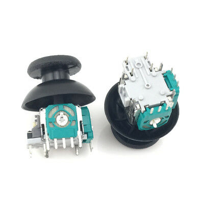 2× For PS4 Controller Analog Thumb Joystick Repair Parts Dualshock Replacement 5