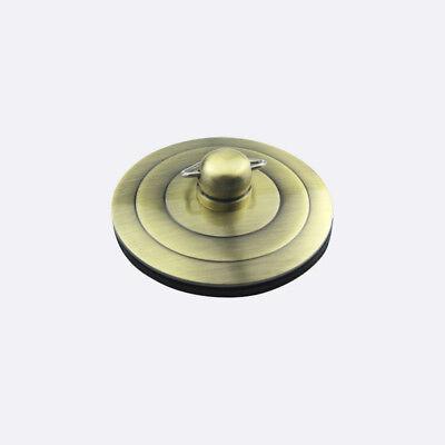 Silver/Gold/Antique Bath Plug with Chain 40-60mm Bathtub Basin Sink Drain Parts 4