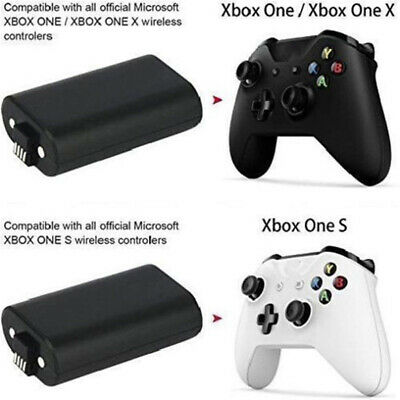 2Pcs Original Rechargeable Battery Pack For Xbox One Wireless Controller 1400mAh 5