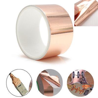 Copper Foil Shielding Tape Electric Guitar Bass 50mm x 2m Conductive Adhesive 8