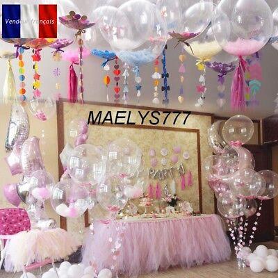 Ballon Confettis Geant 91cm Decoration Mariage Bapteme