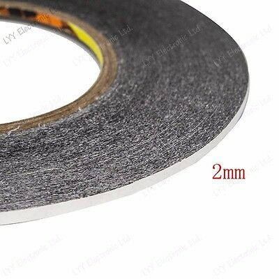 1mm 2mm 3mm black for 3M Sticker Double Sided Tape Adhesive cell phone repair 8