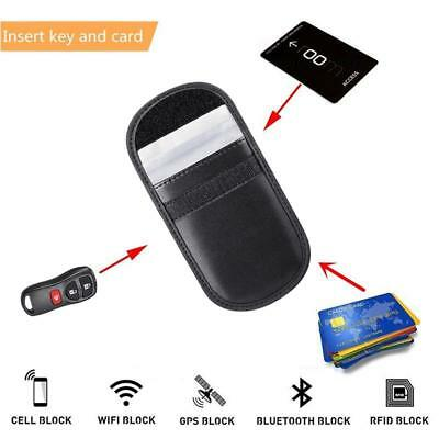 Car Keyless Key Entry Fob Anti-Theft Signal Guard Blocker Case Pouch Faraday Bag 6