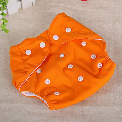 Adjustable Reusable Lot Baby Kids Boy Girls Washable Cloth Diaper Nappies One 7