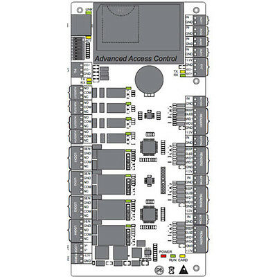 door readers tcp ip rs access control panel board t a zk 4 door 4 readers tcp ip rs485 access control panel board t a zk software c3