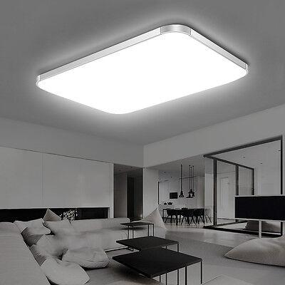 LED Deckenleuchte Deckenlampe 16W-96W Wohnzimmer Badleuchte Dimmbar Küchen Lampe