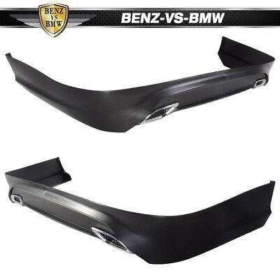 Fit For 13-17 Nissan Sentra Rear Bumper Lip Splitter Spoiler Kit PP OE Style 4