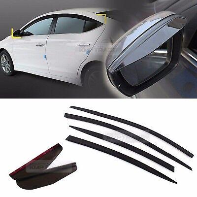 For Hyundai Solaris Sd 2017-2019 Window Side Visors Rain Guard Vent Deflectors