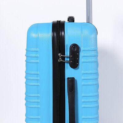 Reisekoffer xH003 Koffer Trolley Hartschalenkoffer Handgepäck 4Rollen M-L-XL-Set 10