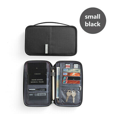Travel Wallet Family Passport Holder Accessories Document Organizer Bag Case 10