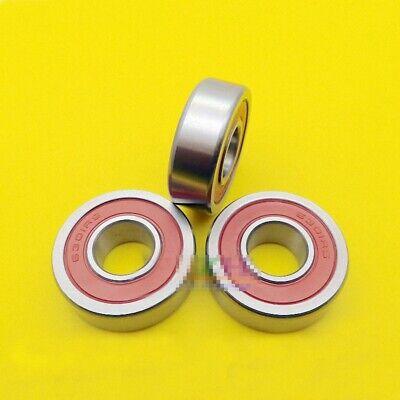 3pcs Non Standard Sealed Metal Ball Bearing 6301/15-2RS 15 x 37 x 12mm[DORL_A] 3
