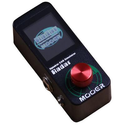 Mooer Radar Speaker Cab Simulator IR loader with Color LED Screen NEW! 4