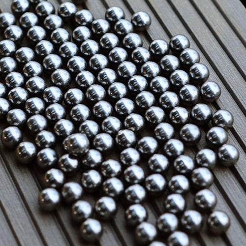 100Pc 6mm Steel Ball For Bearing Slingshot Ammo Catapult Toy Bike Steel Balls
