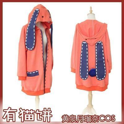 Details about  /Anime Kakegurui Runa Yomozuki Loli Uniform Coat Cosplay Costume-Free Shipping