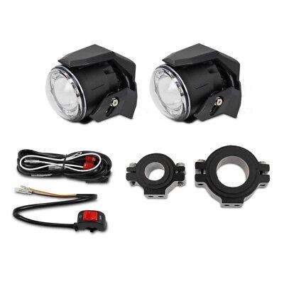 Motorrad Zusatzleuchten Set Lumitecs S3 LED mit E-Zulassung