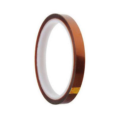 10mm 100ft BGA High Temperature Heat Resistant Polyimide Gold Kapton Tape BAF 2