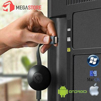Chromecast Wireless Mirascreen Hdmi Display Dongle Media Video Streamer 2